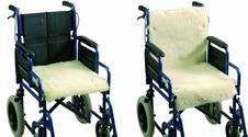 Schapenvacht voor rolstoel