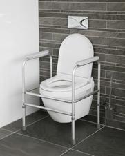 Toiletsteun / toiletframe