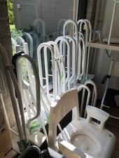 Toilet Beugels - Gebruikt