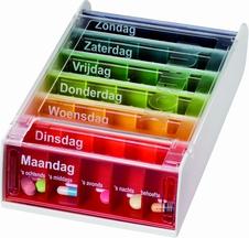 Pillenbox 7 dagen in Nederlands