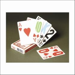 Speelkaarten met groot logo