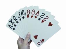Extra grote speelkaarten