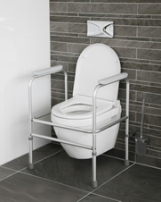 Toiletsteun