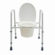 Toiletstoel + Toiletsteun